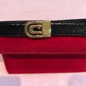 Genuine black snakeskin belt. Beautiful. NeverNWOT